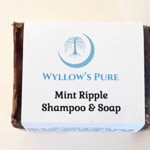 Mint ripple soap and shampoo